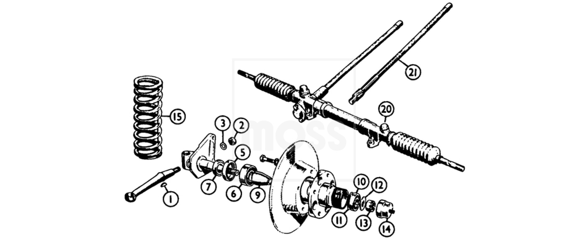 Front Suspension Amp Steering