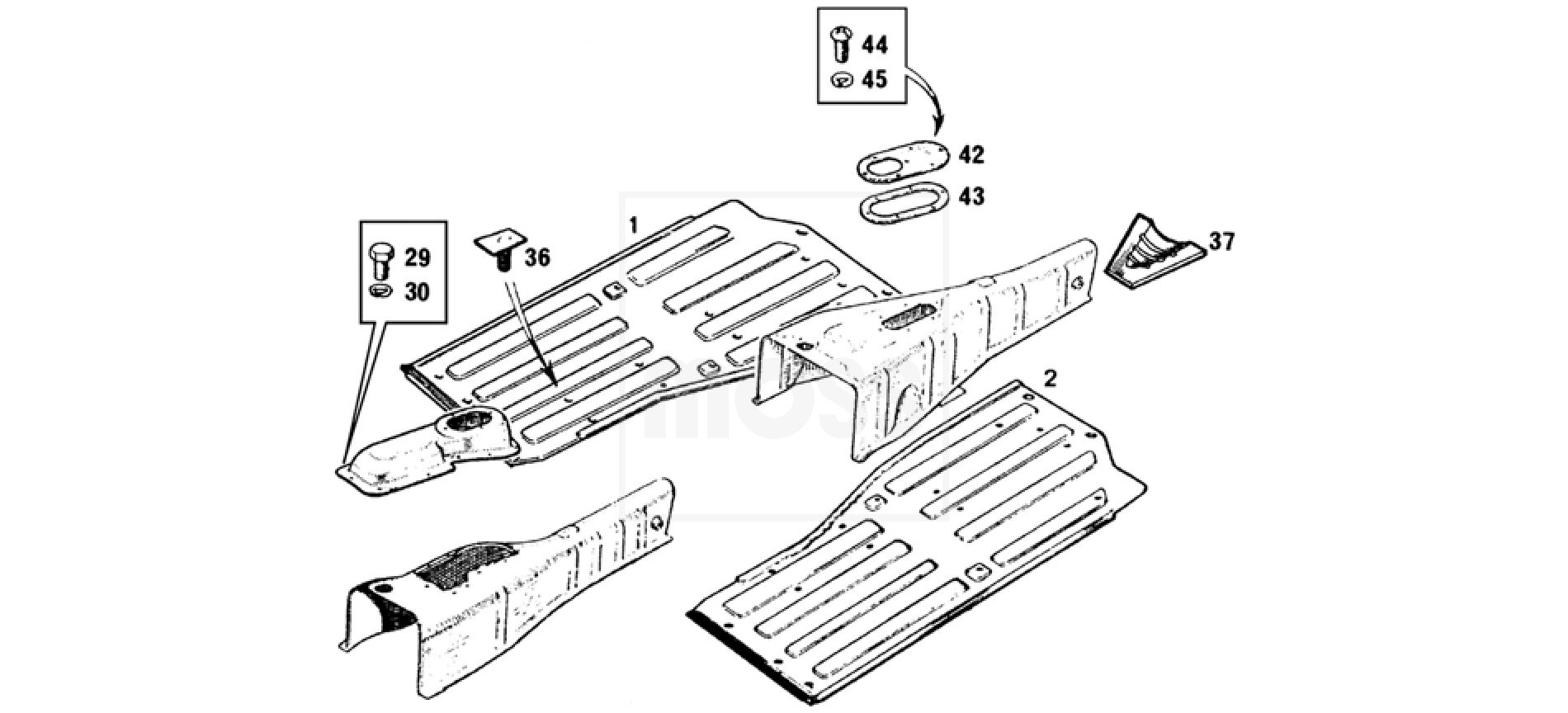 Body Panels Floors Amp Gearbox Tunnel