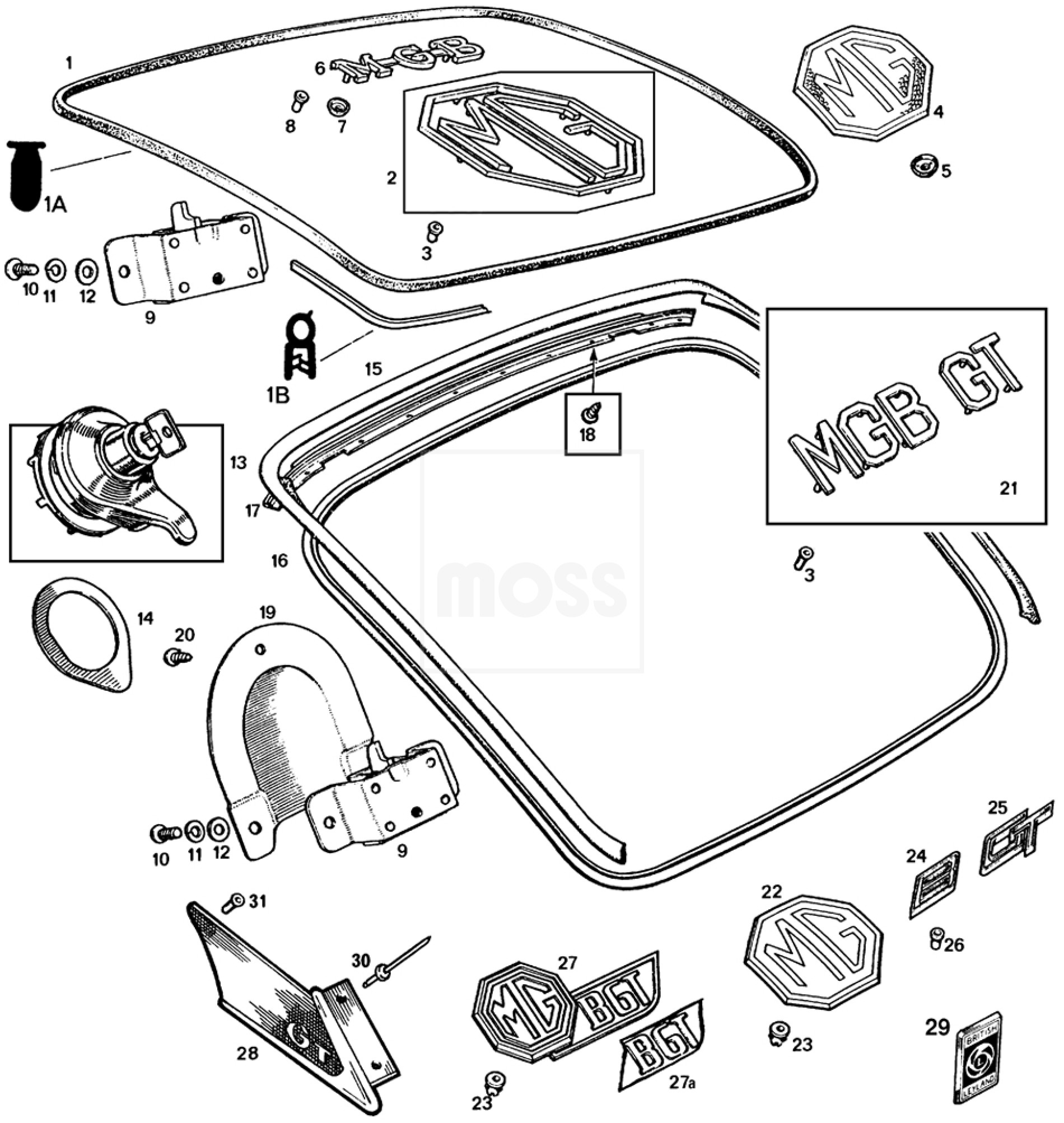 Austin Healey Wiring Diagram