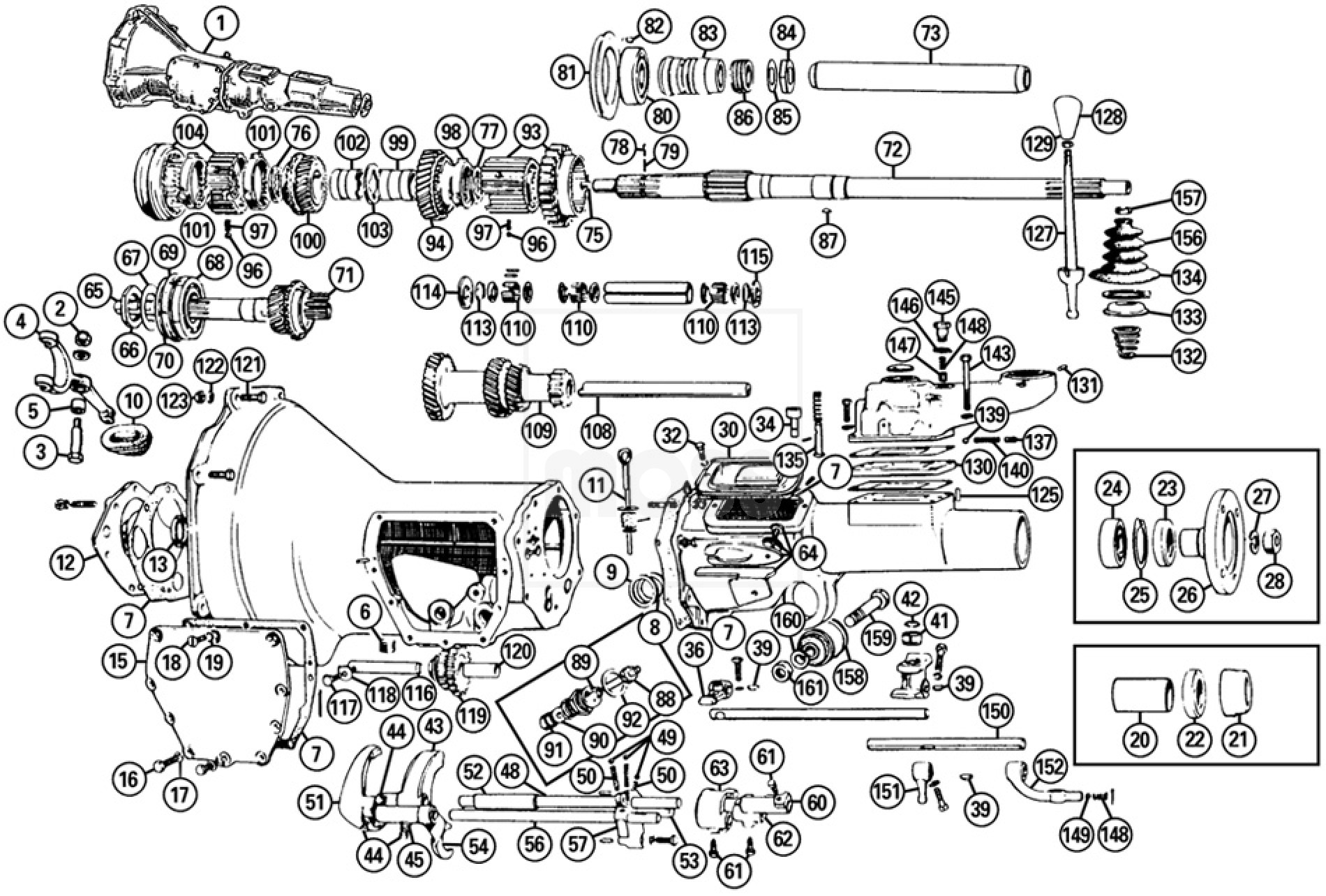 Gearbox Amp Components