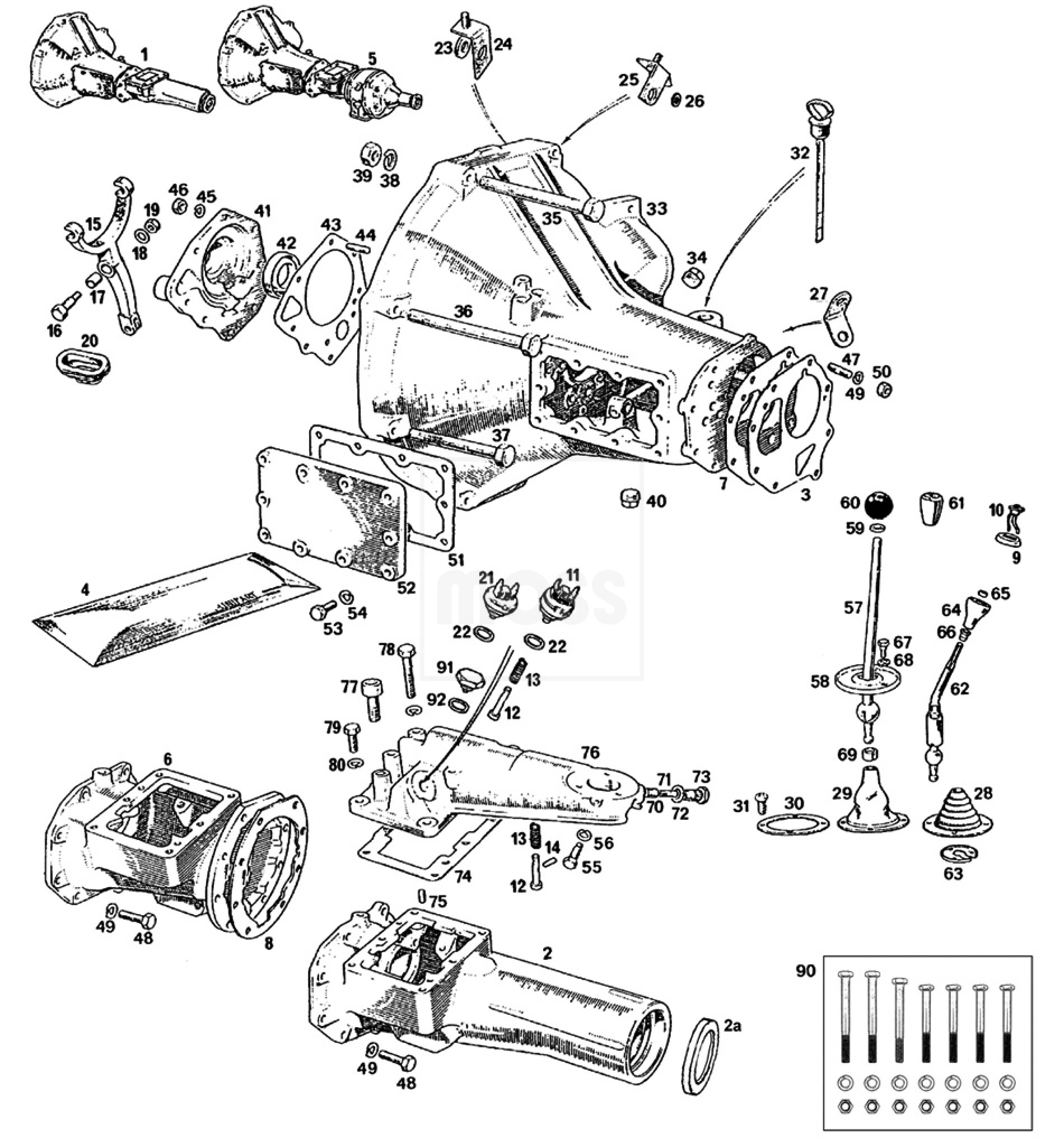 External Gearbox 4 Synchro