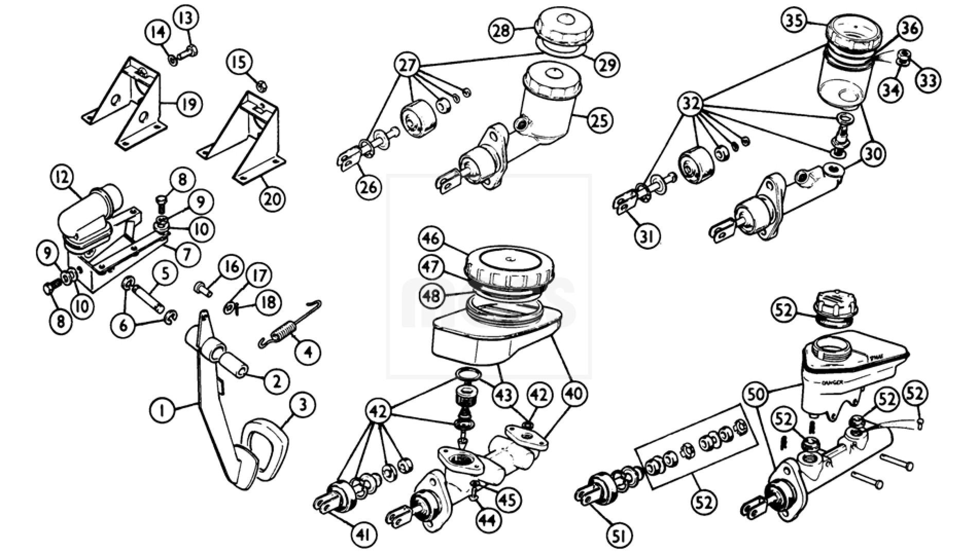 Brake Pedal Amp Fittings