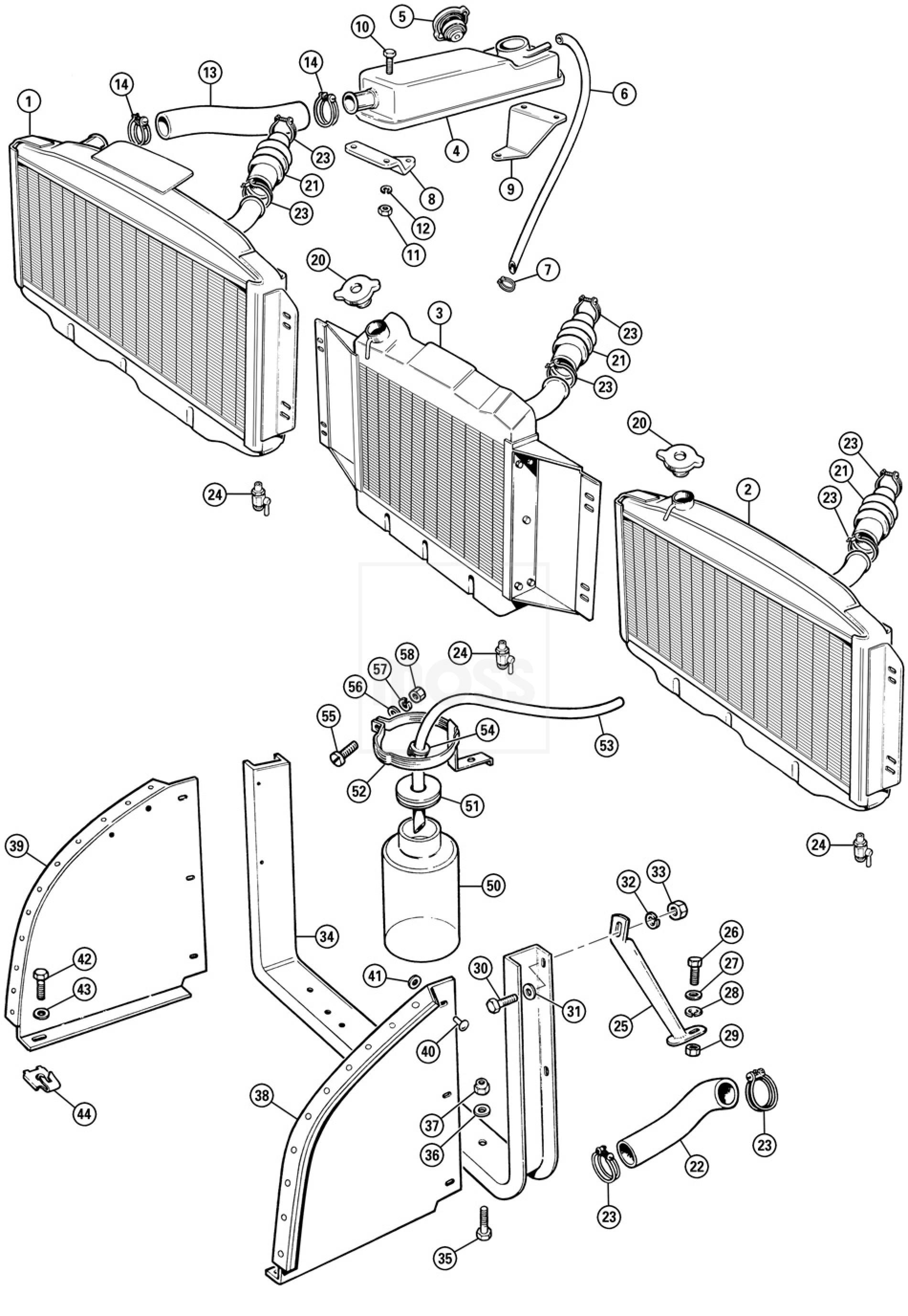 Radiator Amp Hoses