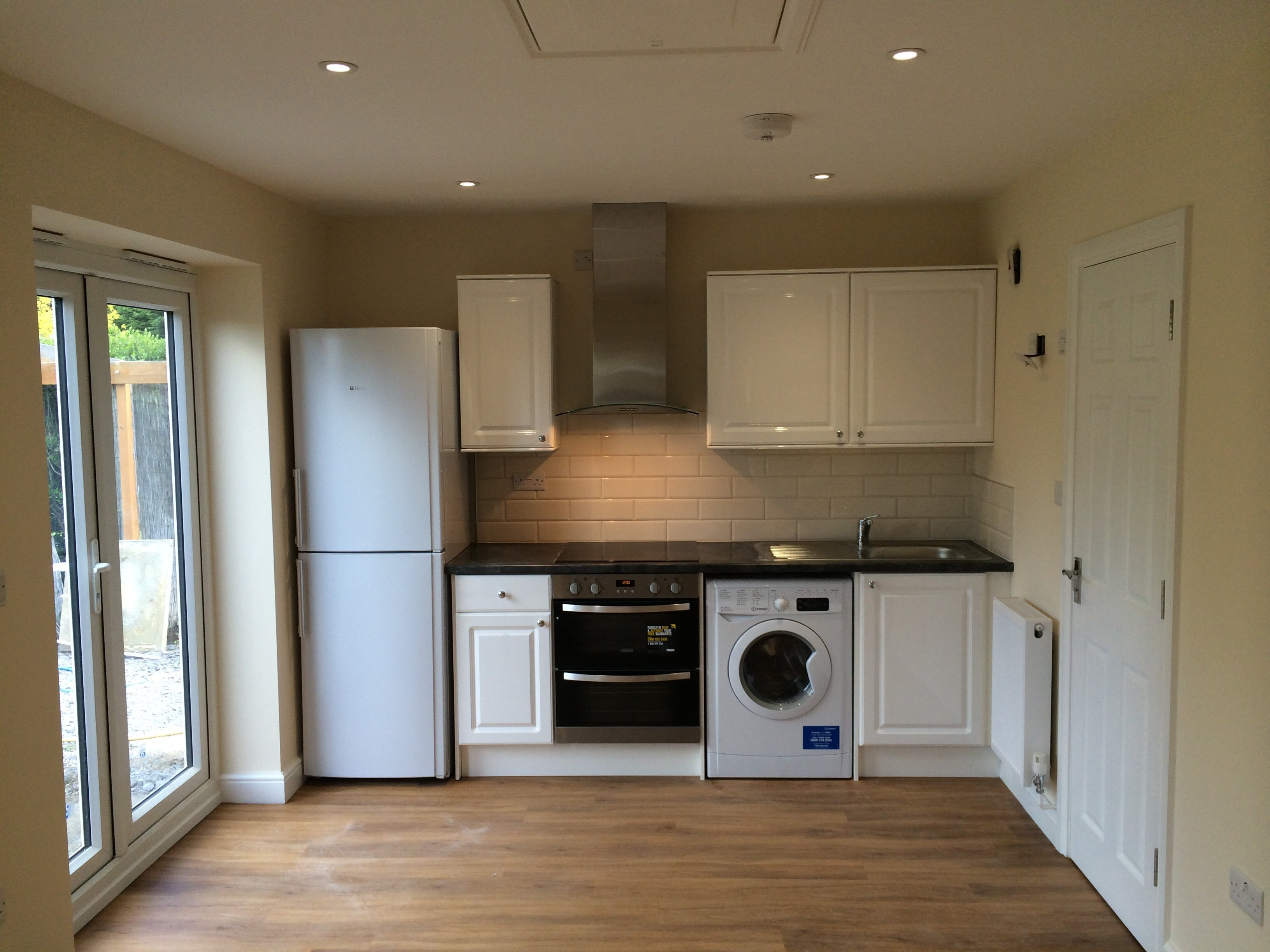 a new kitchen area in the self-contained flat/annexe