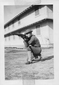 Firing position, 1941