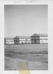 Barracks, Camp Roberts, CA, 1941