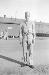 Harold at Camp Stoneman before going overseas September 1942