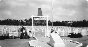 77th Division Cemetery, Okinawa, 1945