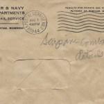 Original 15 July 1944 envelope