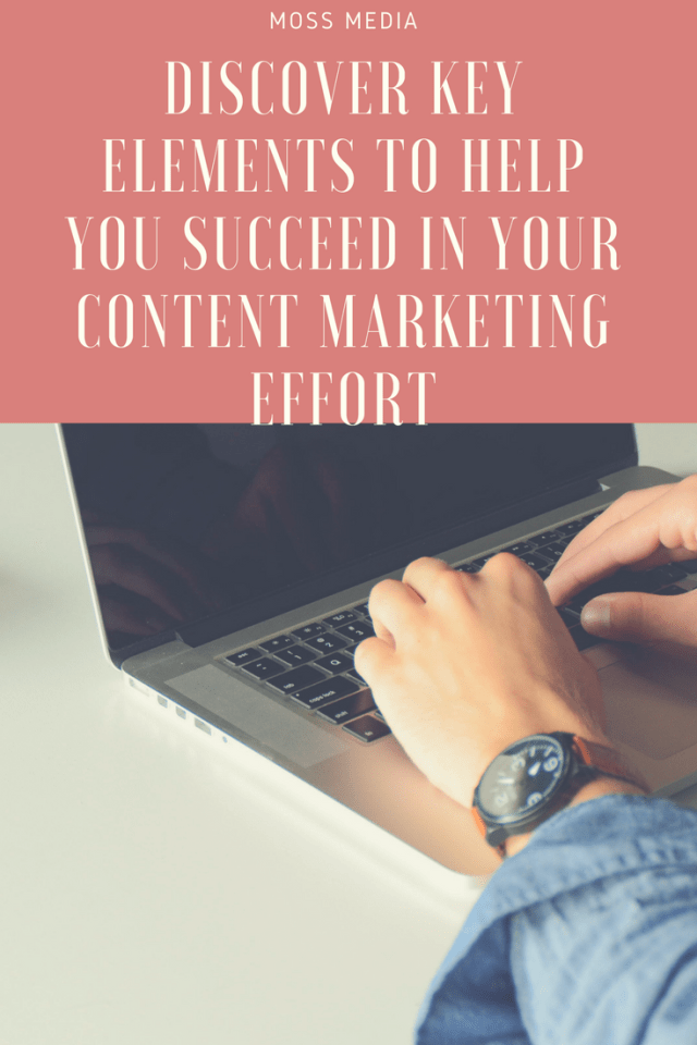 Components of content marketing