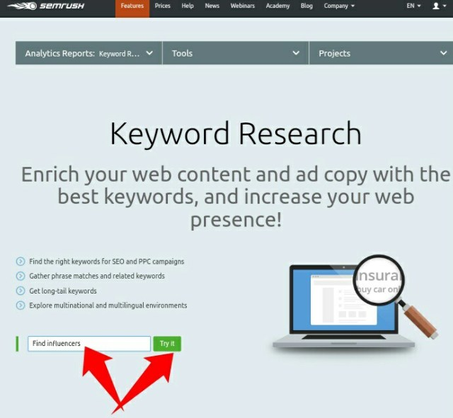 How to find the right keywords that will improve search ranking
