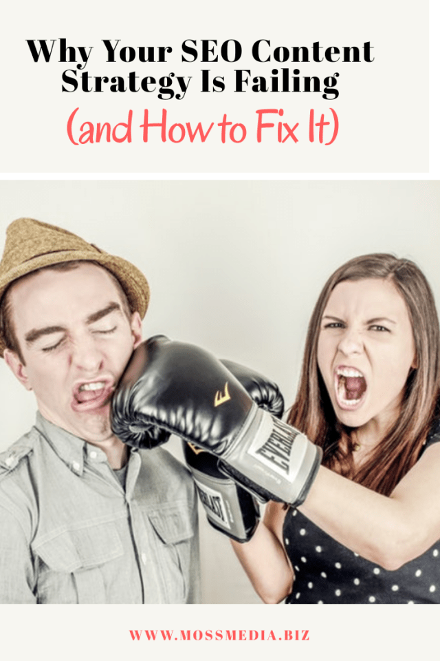 Why your SEO content strategy is failing (and How to Fix It)