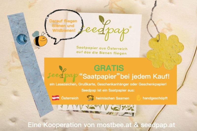 saatpapier seedpap kaufen mostbee.at