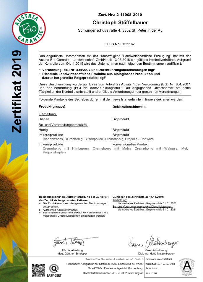 bio-honig-zertifikat-blütenhonig-bienenwachs-mostbee.at