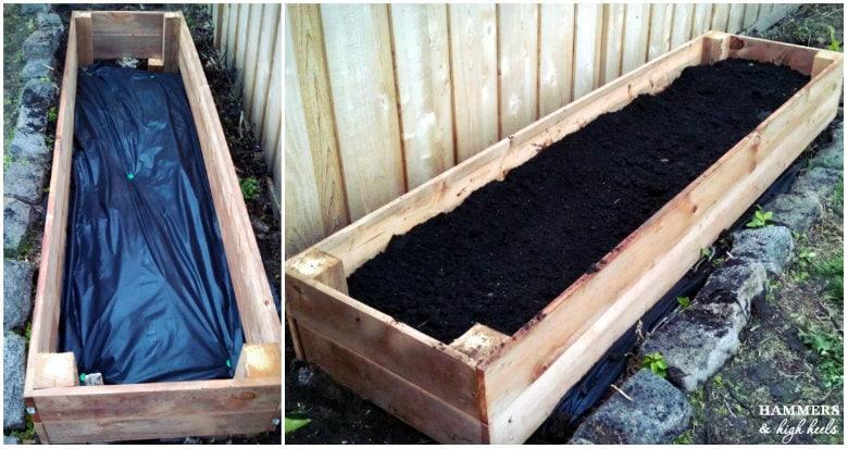 Raised Planter Box Bottom