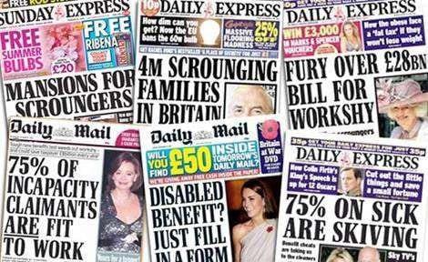 tabloid press