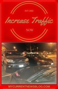 Increase blog traffic now