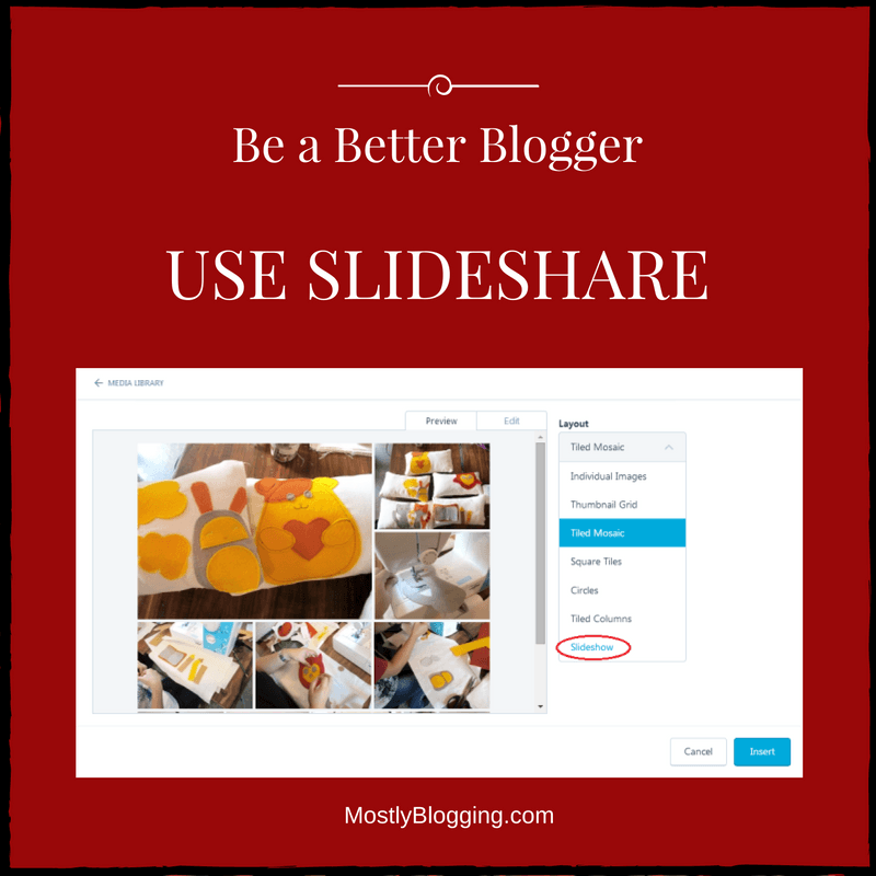 1 Popular Way to Be a Better Blogger with Slideshare