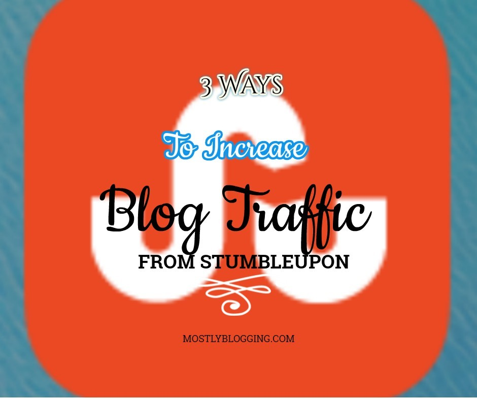 #Bloggers can boost their StumbleUpon traffic.