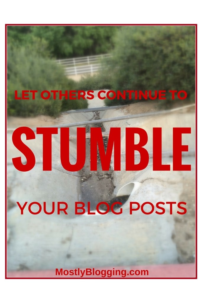 How to Quickly Boost StumbleUpon Traffic: The Latest from Mostly Blogging.