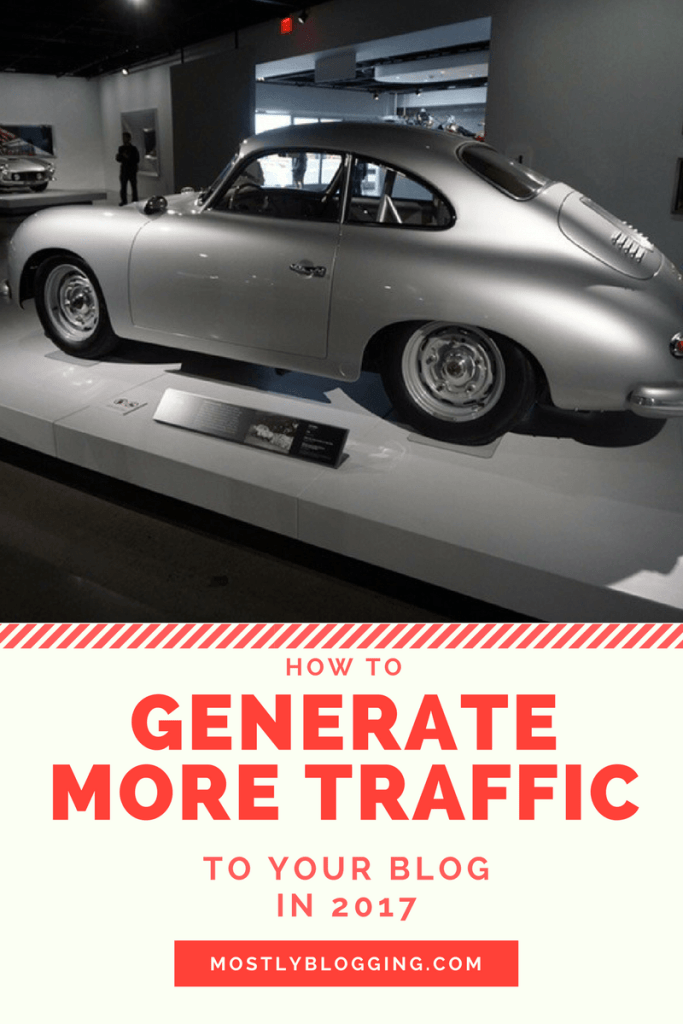 How to Generate Better Traffic to Your Blog in 2017