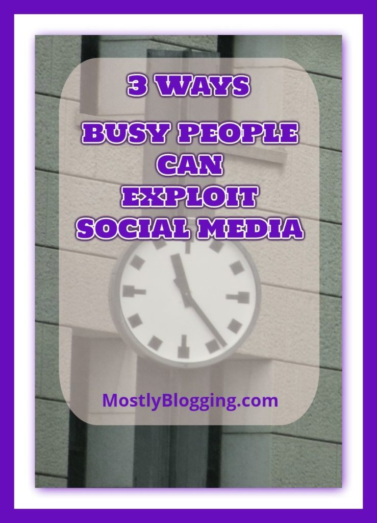 3 Social Media Tools can help #Bloggers #BloggingTools