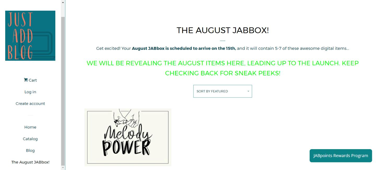 JAB Just Add Blogger