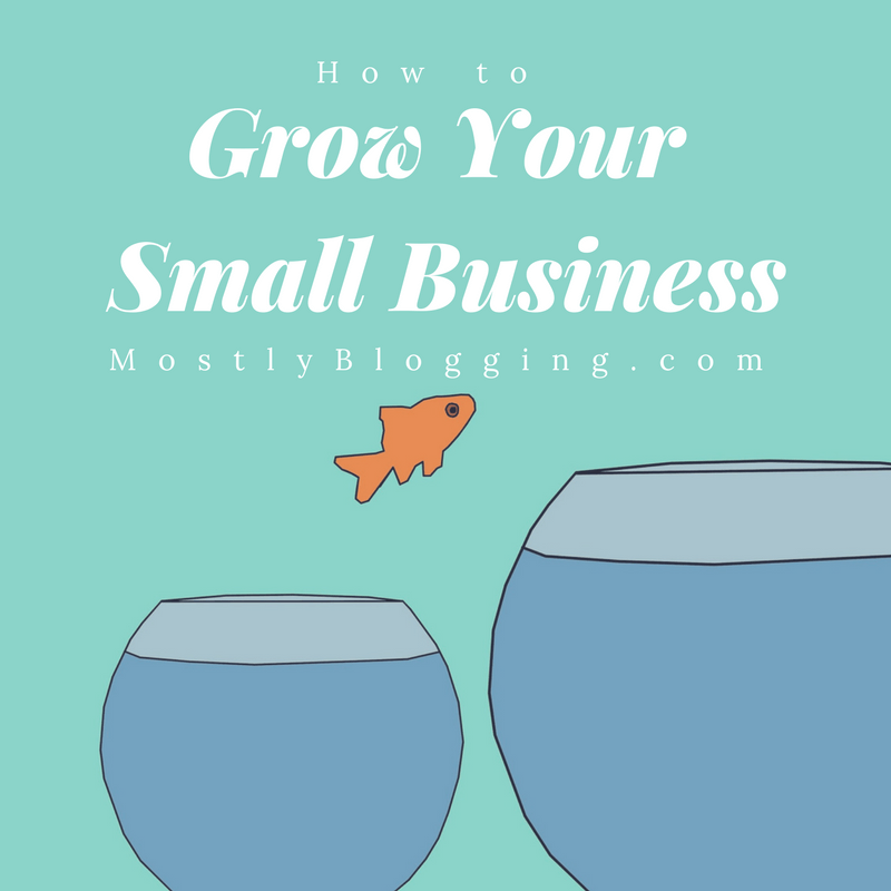 A small scale business will grow with a blog
