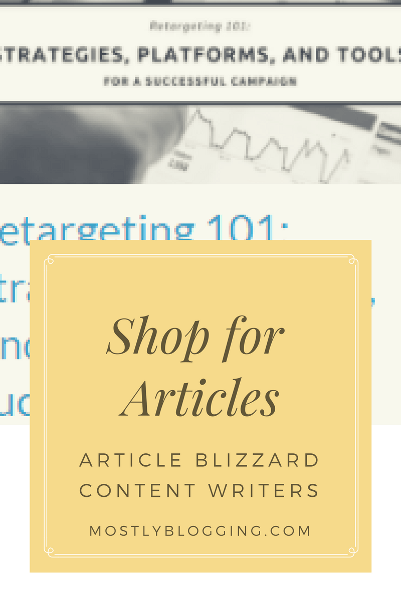 How to Be Prepared with Article Blizzard: You Need This Article Writing Service Now