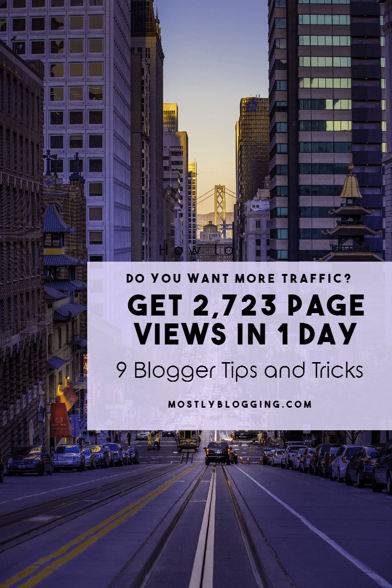 9 Free & Easy Blogger Tips and Tricks: How to See 2,723 Hits Quickly