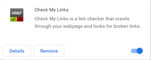 internal link checker fixes broken links