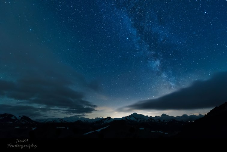 No.10 Buy Now The Milky Way Whistler Mountain The Other Day