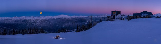 No.28 Whistler Blackcomb Full Moon