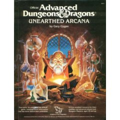 AD&D 1st Edition Unerathed Arcana