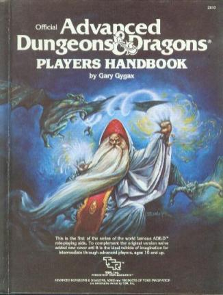 AD&D 1st Edition Players Handbook
