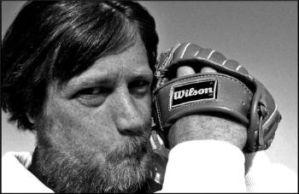 Brian Wilson: Bearded Beach Boy with Baseball Glove