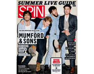 Mumford & Sons Spin Magazine Cover