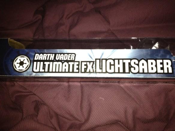 Darth Vader Ultimate FX Lightsaber