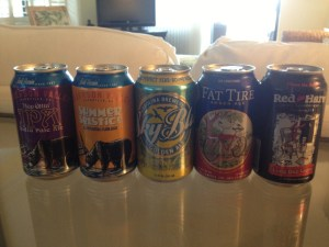 Craft Beer Cans