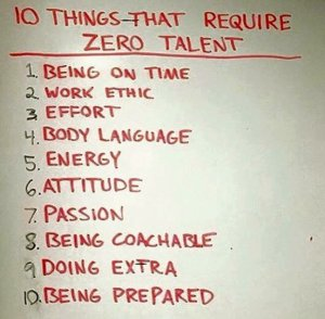 10 Things That Require Zero Talent