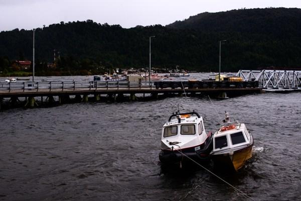 Puerto Cisnes Harbor
