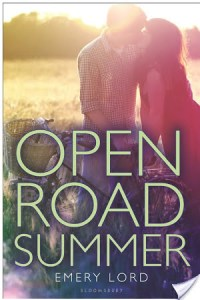 Open Road Summer by Emery Lord book cover
