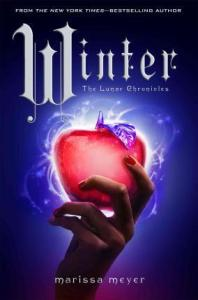Winter book cover by Marissa Meyer