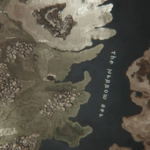 Map from Game of Thrones opening credits