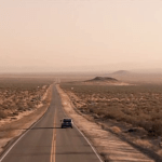 Picture of road from end of Six Feet Under, on Mostly YA Lit's review of Just Visiting Dahlia Adler