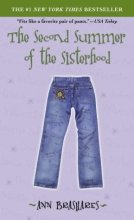 The Second Summer of the Sisterhood by Ann Brashares book cover
