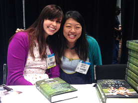Morgan Matson and Tiff @ Mostly YA Lit at BEA14