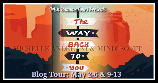 The Way Back To You blog tour Banner