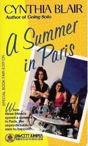 A Summer in Paris Cynthia Blair book cover