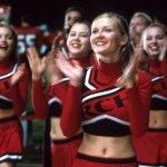 still from Bring It On featuring cheerleaders